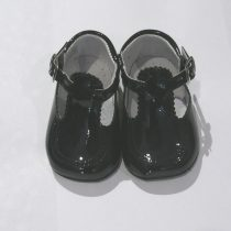 Pretty Originals Baby Boy Navy Pram Shoes