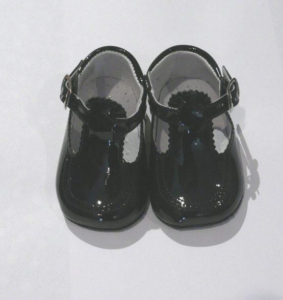 Pretty Originals Baby Boy Navy Pram Shoes