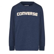 Converse Boys Navy Long Sleeve Top