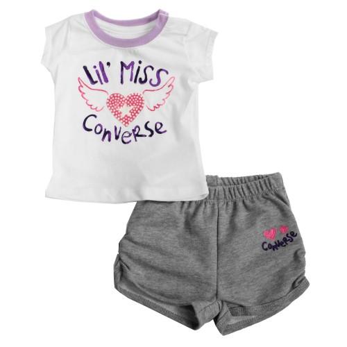 Baby Girls Converse Shorts Set Briannagh Children S Boutique