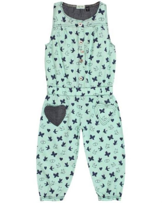 Lilly and Sid Lime Green Jump Suit