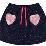 lilly and sid girls navy skirt