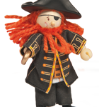 Le Toy Van Pirate Barbarossa Budkin