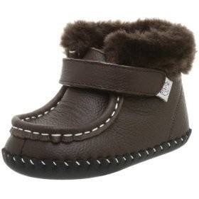 Pediped Andrew Choc Brown fur lined Boots