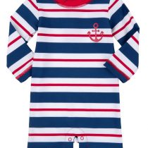 Retro Striped Baby Rash Guard by Hatley