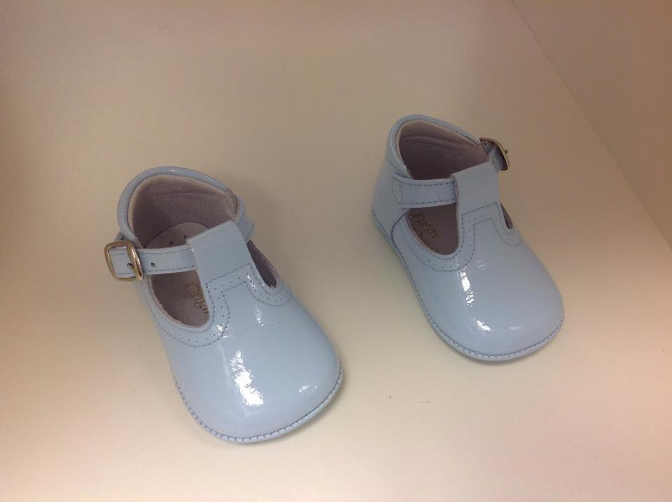Pretty Originals Baby Boy Blue Pram Shoes UE03180  54a03158604e