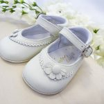 pretty originals ivory pram shoes