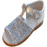 pretty originals silver sandals
