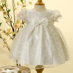 Sevva cream dress Christening Dress