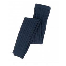 hatley--navy-cable-knit-footless tights