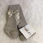 Katun Grey Bow tights