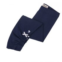 Hatley Navy Leggings with White Side Bow