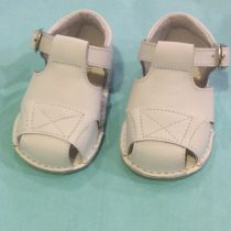 Pretty Originals Baby Boy White Box Sandals UE08184