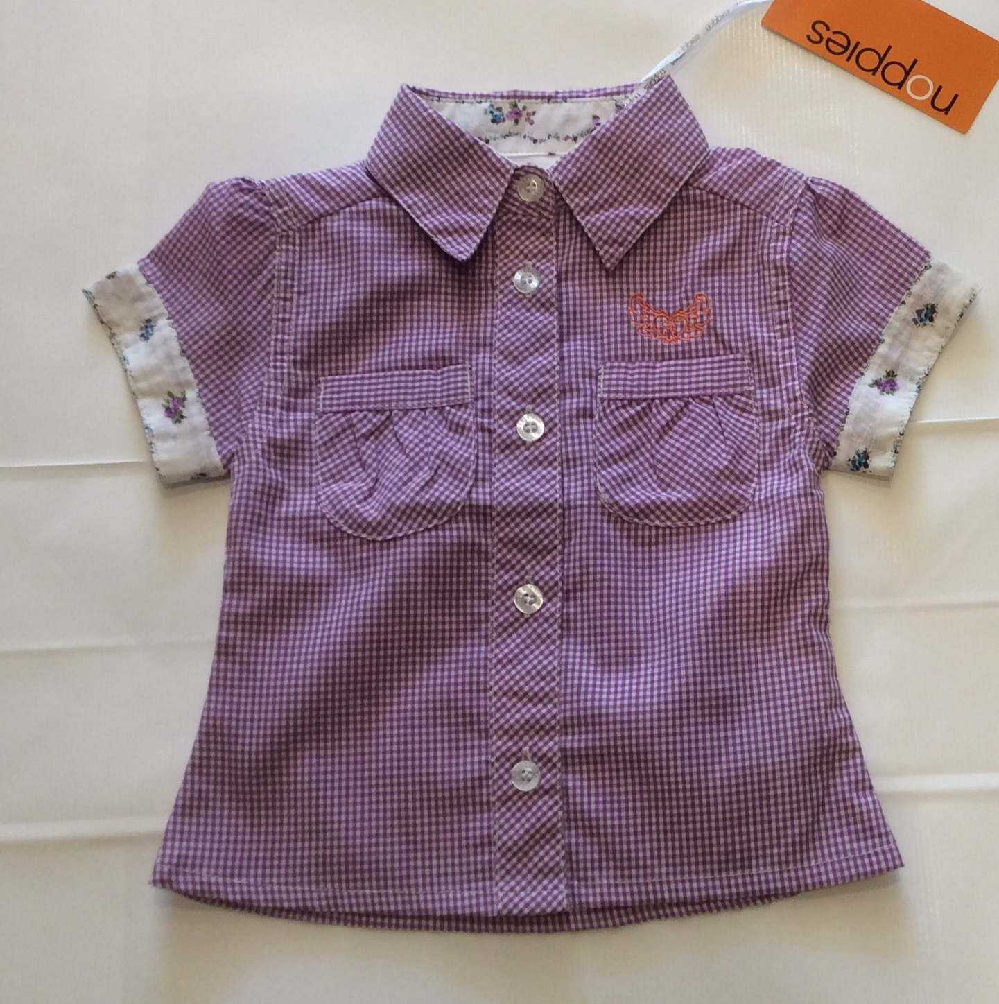 Baby Girl Lilac blouse