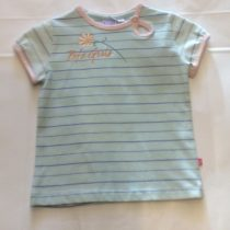 Baby girls T-Shirt  by Baby Face Clothing in Mint