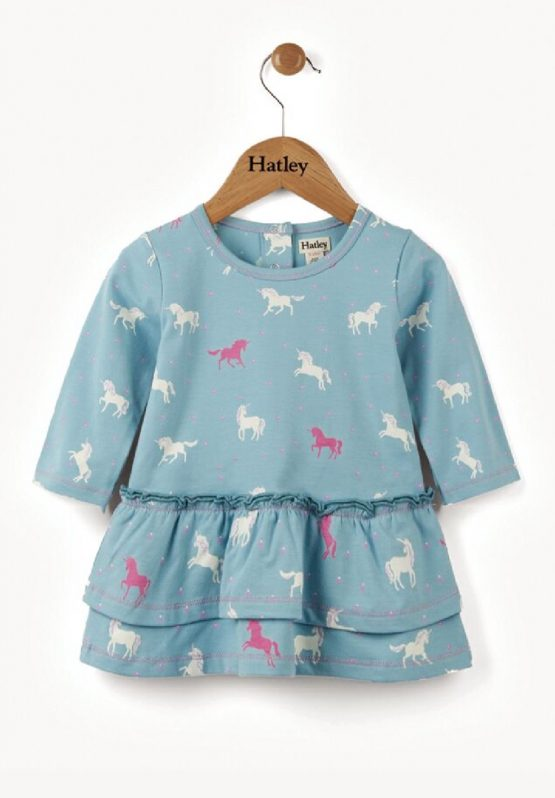 Hatley Unicorn Winter Dress