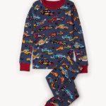 Hatley Monster Truck Pajamas