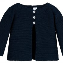 Babidu Baby Navy 100% Cotton Cardigan