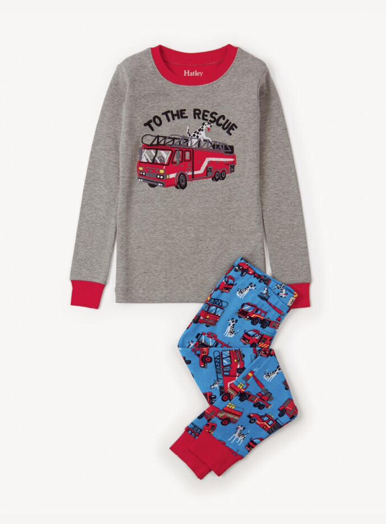 Hatley Fire Rescue Pajamas