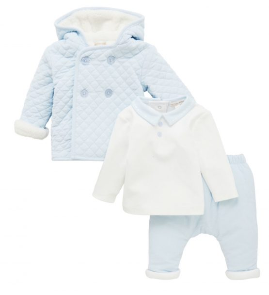 Mintini Baby 3 piece Set – Blue