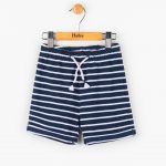 Hatley Boys Navy Striped Summer Shorts