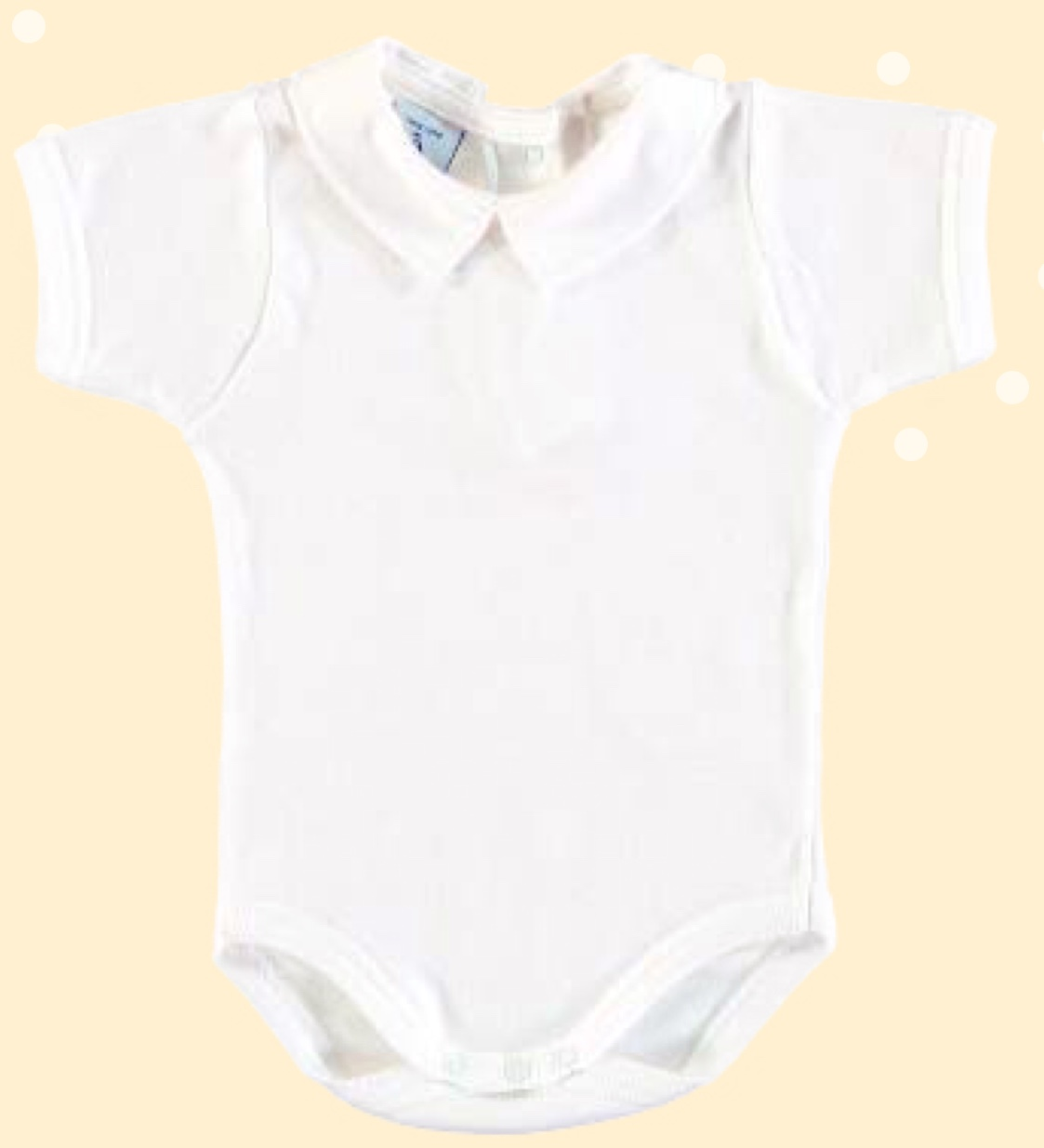 cc2031d5a Babidu Baby White Body with All White Peter Pan Collar | Briannagh ...