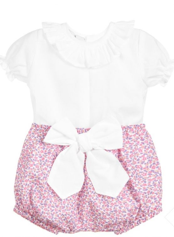 Babidu Baby Girl Liberty Print Jam Pants Set
