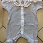 Babidu Grey Peter Pan Short Romper Ref 11240