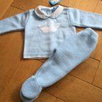 Spanish Knitted Set by Sardon