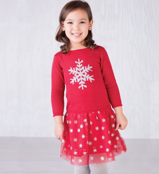 Hatley Red Christmas Dress