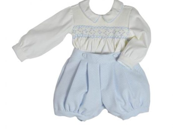 Pretty Originals Smocked Suit - Traditional Buster Suit