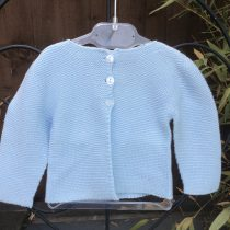 Babidu Baby Pale Blue 100% Cotton Cardigan