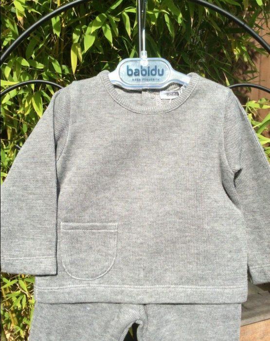 Babidu 2 Piece Winter Set in Grey Ref 66165