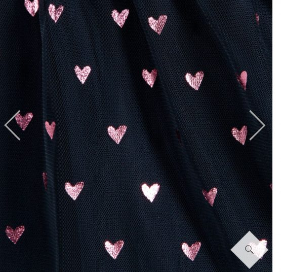 Hatley Pink Heart Dress